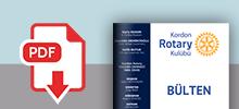 Kordon Rotary Haftalık E-Bülten Pdf indir